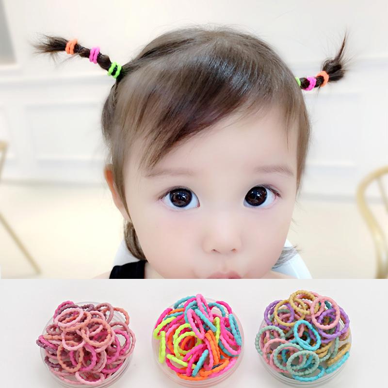 宝宝皮筋不伤发儿童小发圈扎啾啾皮圈女童非一次性小皮筋婴儿头绳