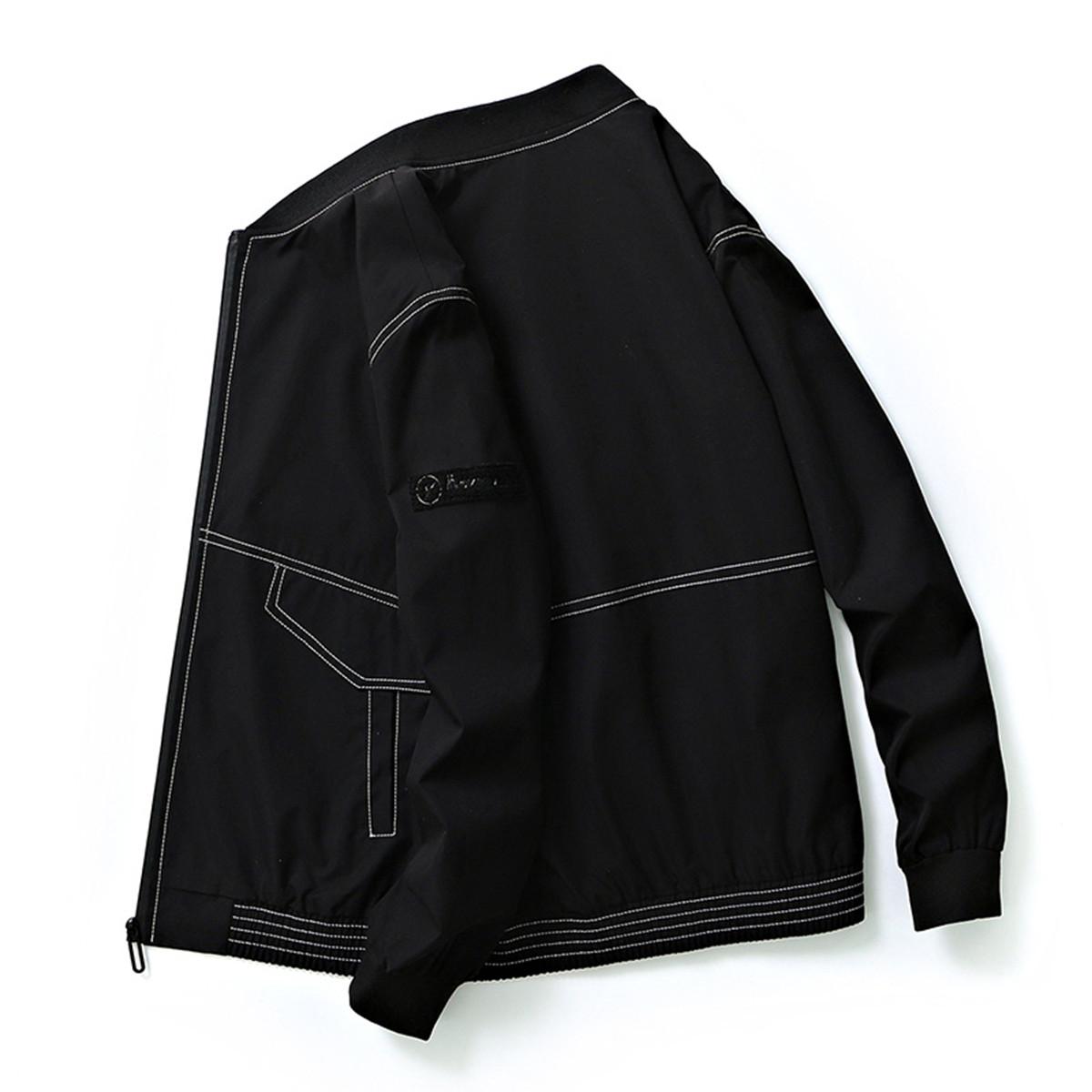 外套男士秋季潮牌上衣韩版棒球服上衣学生休闲运动男式夹克艾夫斯