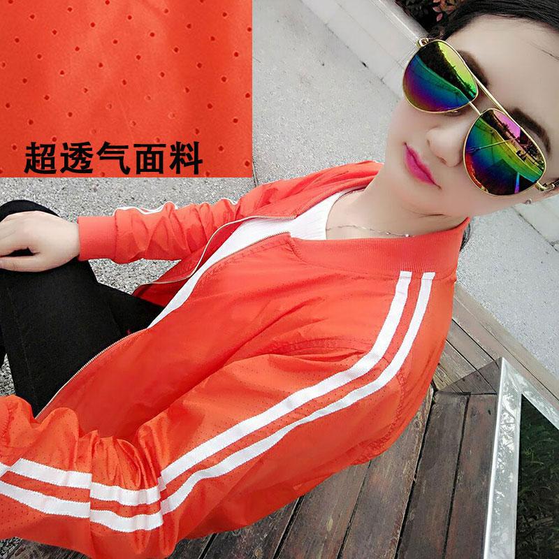 Europe 2020 summer breathable sun proof clothes large short small coat womens ultraviolet Baseball Jacket thin jacket
