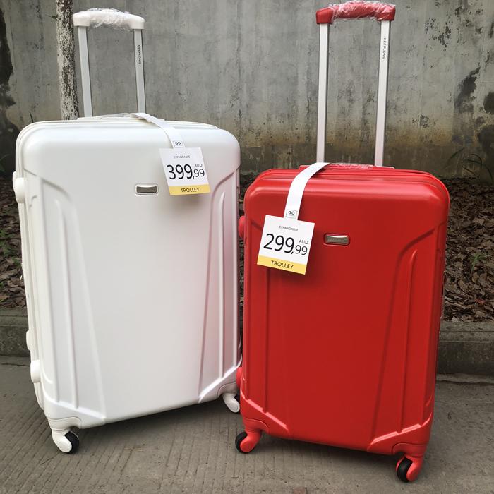 出口澳洲旅行箱静音万向轮PC行李箱女超轻扩展拉杆箱20登机箱防刮