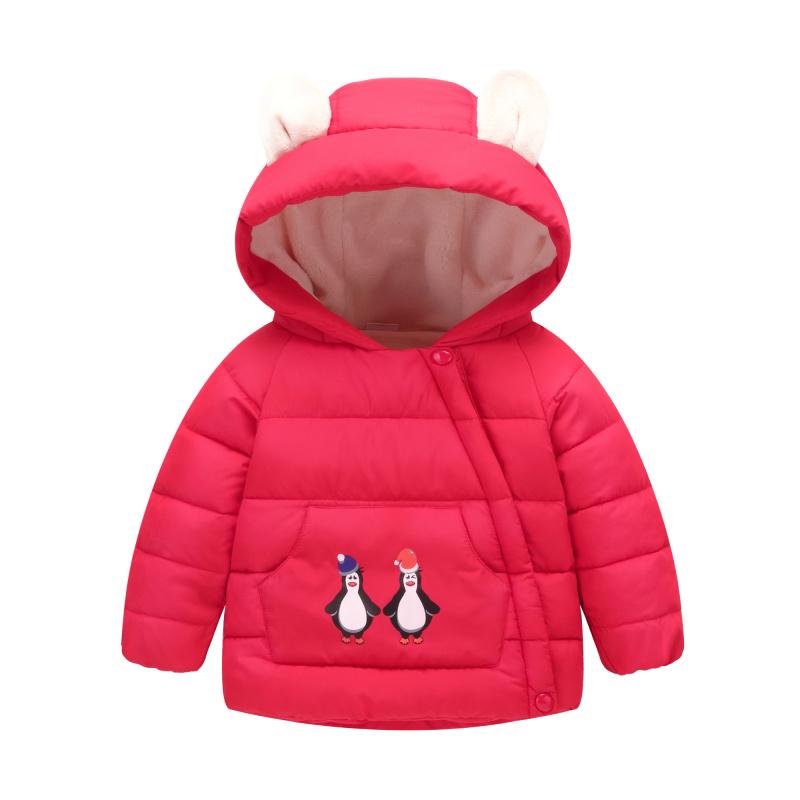 棉衣宝宝儿童羽绒棉服棉袄冬装反季童装女童棉服新款男童女冬季男