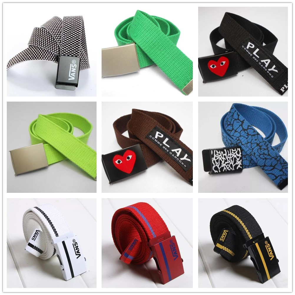 9 yuan canvas belt for boys and girls in primary school Superman belt for boys aged 9-10-11-12-13-14