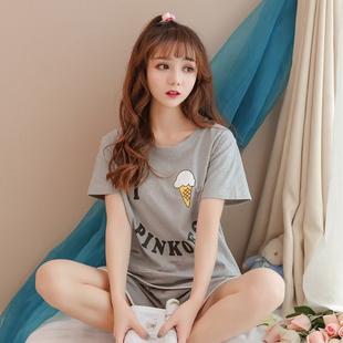 夏季短袖甜美可爱睡衣