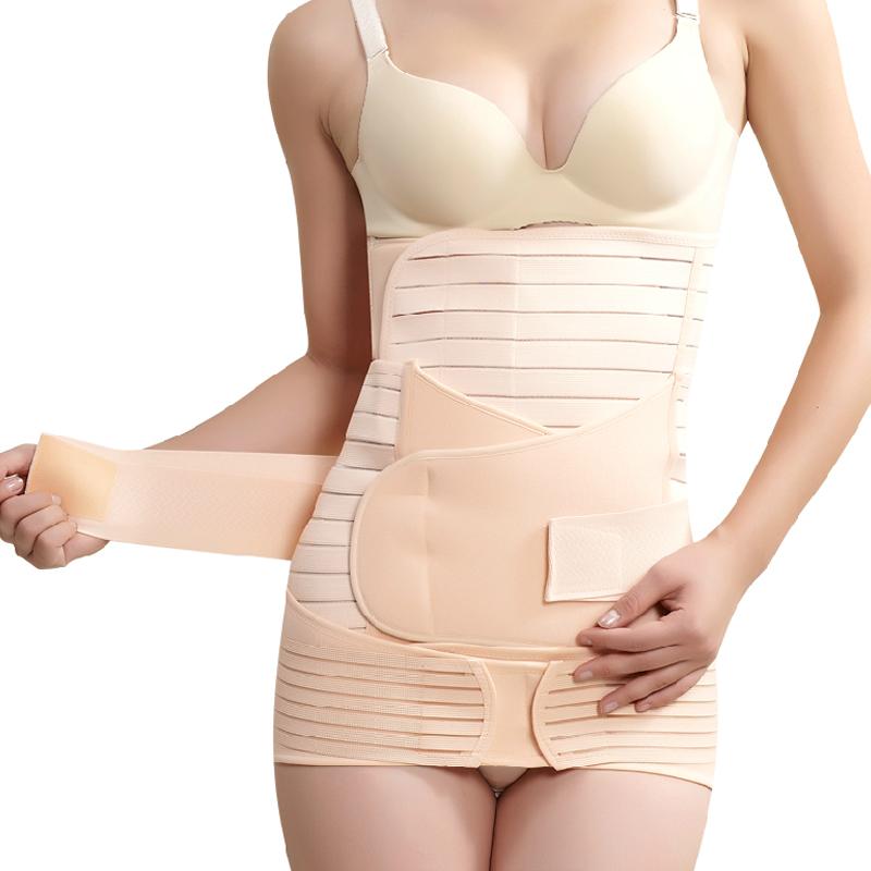 產後三件套收胯帶收胃帶收腹帶透氣超薄 產後骨盆矯正帶收盆骨帶