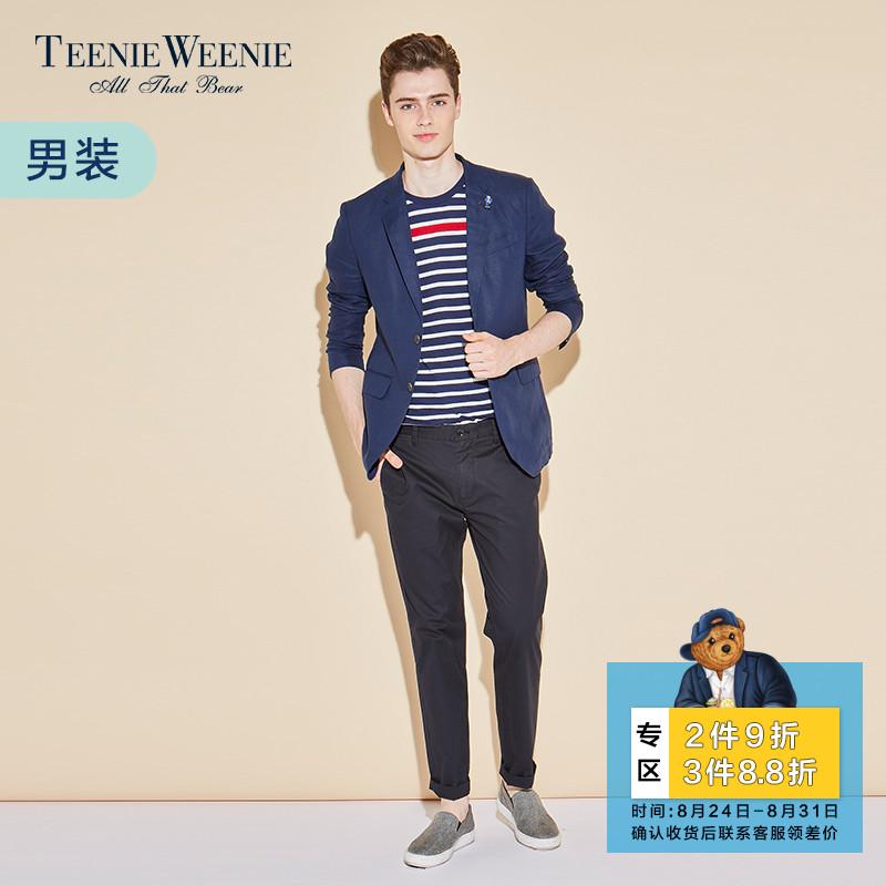 Teenie Weenie小熊夏商场同款男装休闲长裤裤子TNTC72307K
