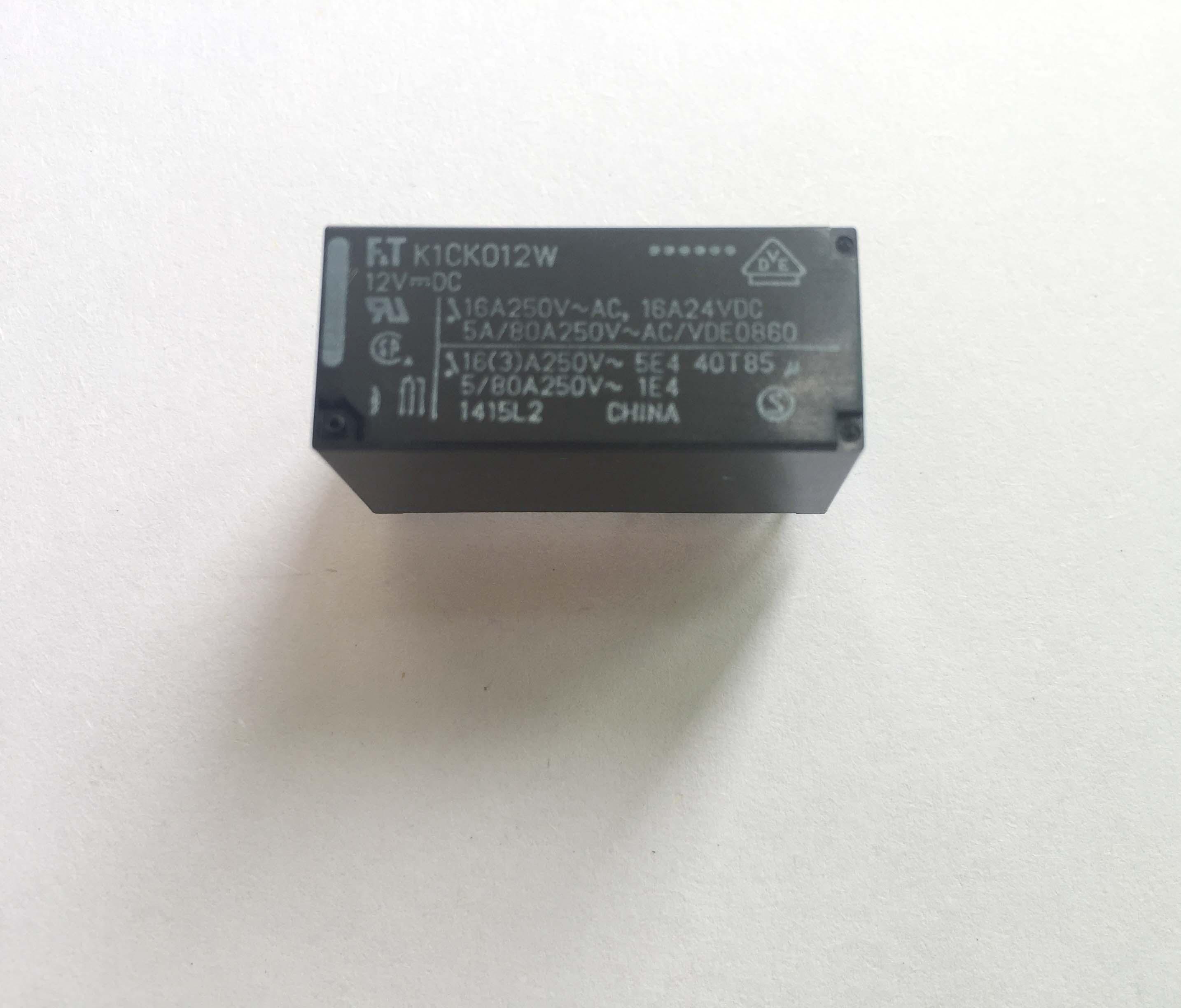 全新8脚12V继电器FTR-K1CK012W 8脚 16A DC12V 原装富士通