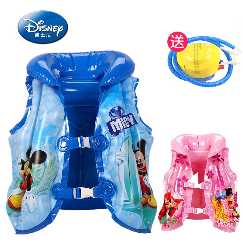 Disney ребенок газированный жилет сгущаться жилет мальчиков и девочек, поплавок сила одежда ребенок плавать оборудование не- спасательные жилеты