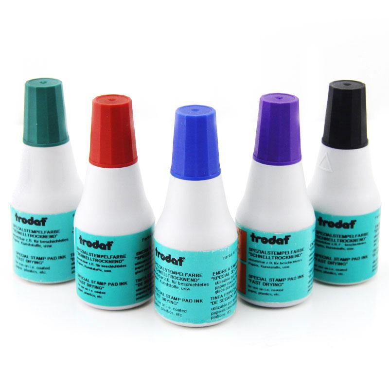 卓達7021快幹印油 用於銅版紙、不貼膜的不幹膠等紙麵不掉色 25ml
