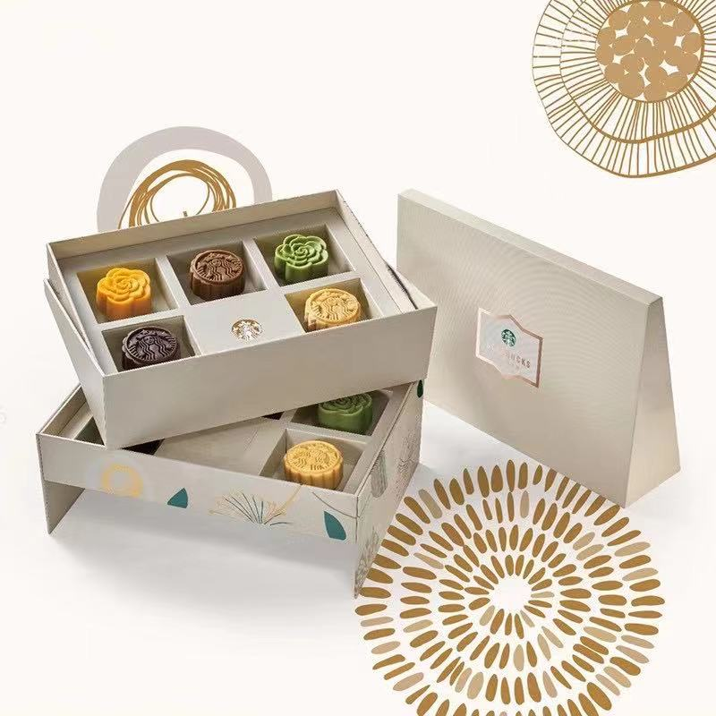 Starbucks moon cake coupon / ticket 598 Xingyi mid autumn moon cake gift box delivery coupon general package in Hubei Province