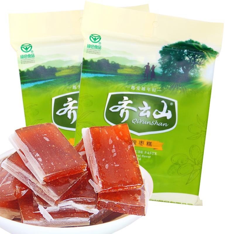 江西特產小吃 齊雲山南酸棗糕300g^~2袋 獨立小包 零食果脯蜜餞