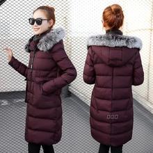 2017冬装新款韩版羽绒棉服女装宽松棉衣女中长款冬季棉袄外套