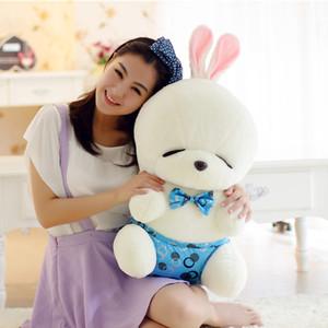 艾睿兔 毛绒玩具情侣流氓兔公仔大号泳装兔子娃娃 生日礼物女