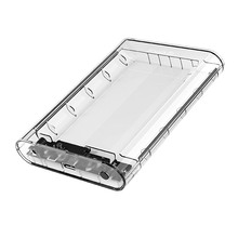 Olk / ORICO 2.5 / 3.5 inch mobile hard disk case external reading USB 3.0 desktop notebook solid state mechanical hard disk base transparent box water-cooled shell