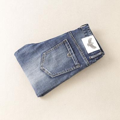 2019秋季新款男士蓝色牛仔裤 货号9815 P165长期款不断货