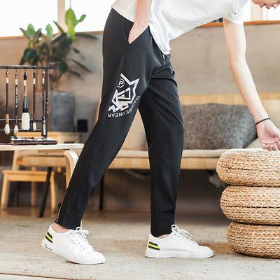 咖啡厅 DDK-电商基地A101-ARW801-P38-100%聚酯纤维 夏季休闲裤