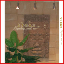 Shanghai Dragon Chapter Antique sandstone Embossed mural background wall villa exterior wall decoration material-decorative avatar