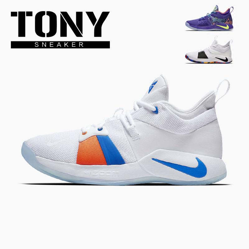 Nike Paul George PG2耐克保罗乔治2曼巴精神篮球鞋男AJ2040-400