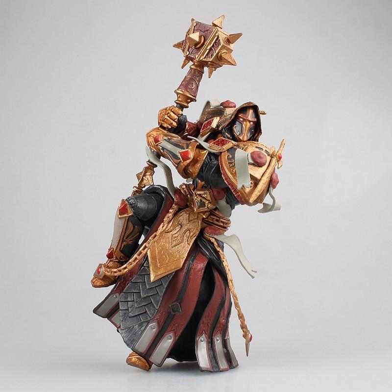 周边魔兽世界T2审判套圣骑士手办模型wow橙锤桌面摆件礼