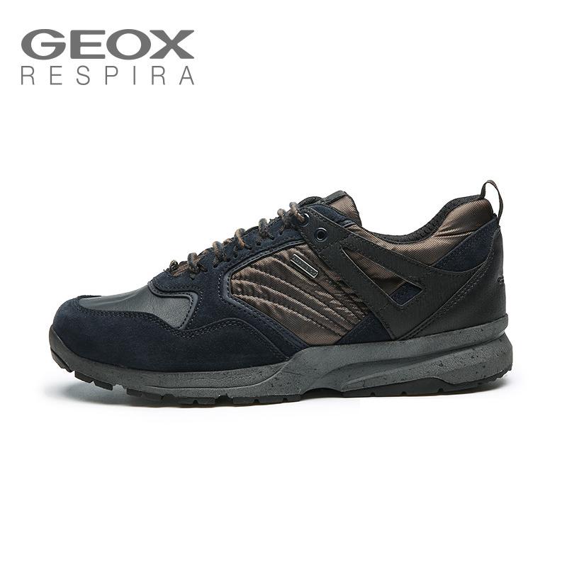 GEOX/健乐士男士运动休闲鞋ABX系列户外青年鞋防水透气鞋U742WA