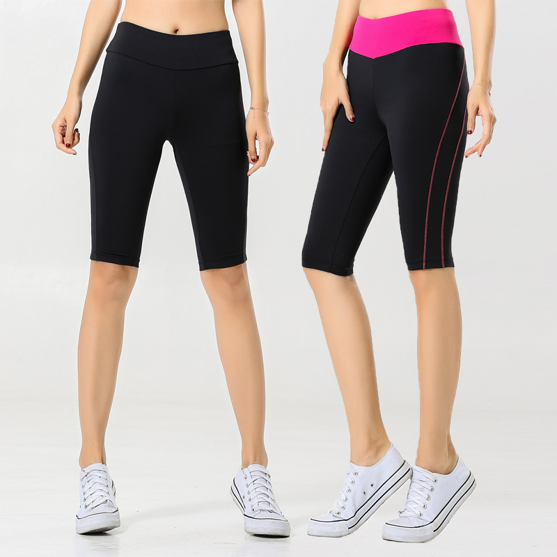 運動パンツの女性ヨガランニングトレーニング速乾性ストレッチ空気を吸って汗を吸います。