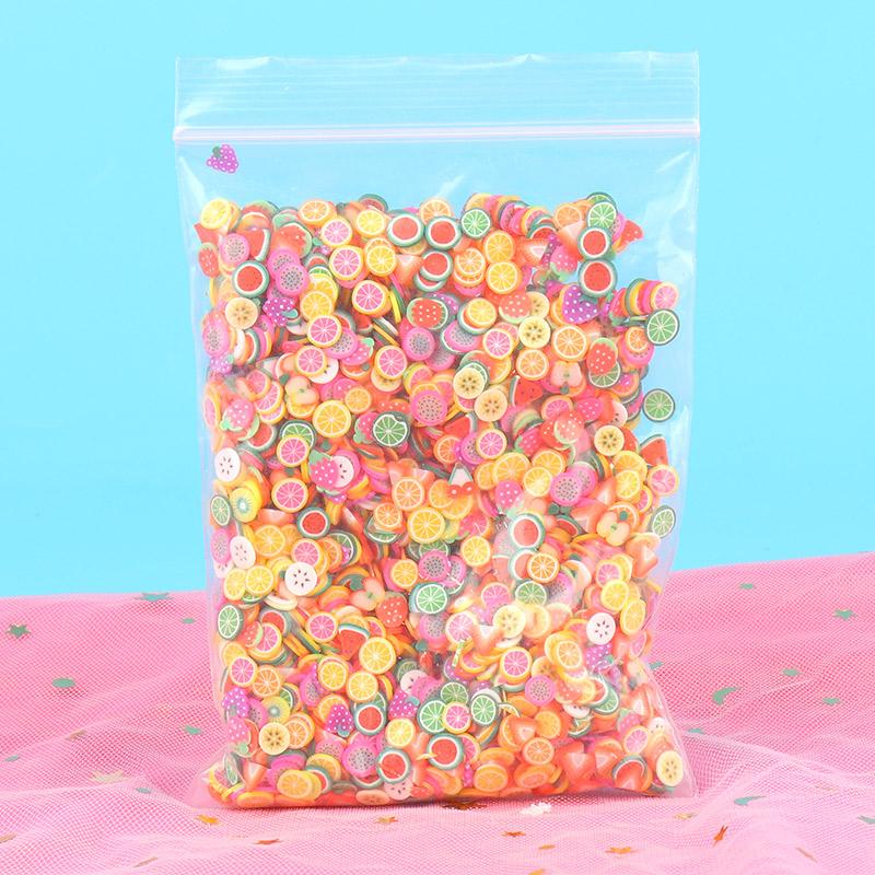 手工diy水晶泥软陶条切片水果片水晶泥水果切片史莱姆原液添加(非品牌)
