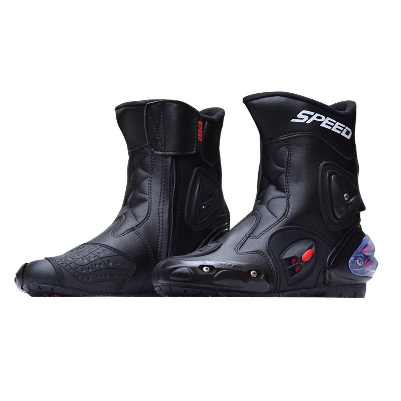 Про БАЙКЕР скорость внедорожных мотоциклов обувь внедорожный обувь Сапоги гонки гонки сапоги Сапоги байкера