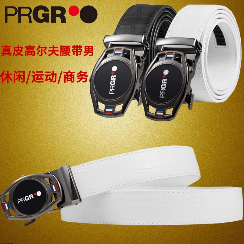 Golf Belt mens automatic buckle alligator leather leisure sports business Golf pants belt for men