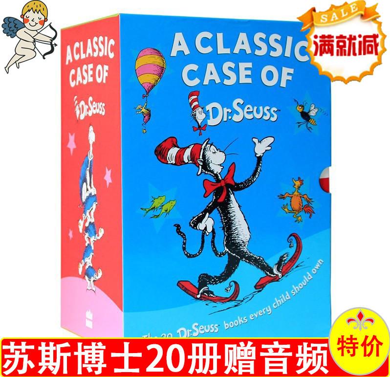 英文原版绘本dr. seuss苏斯博士经典系列绘本儿童英语故事书20册