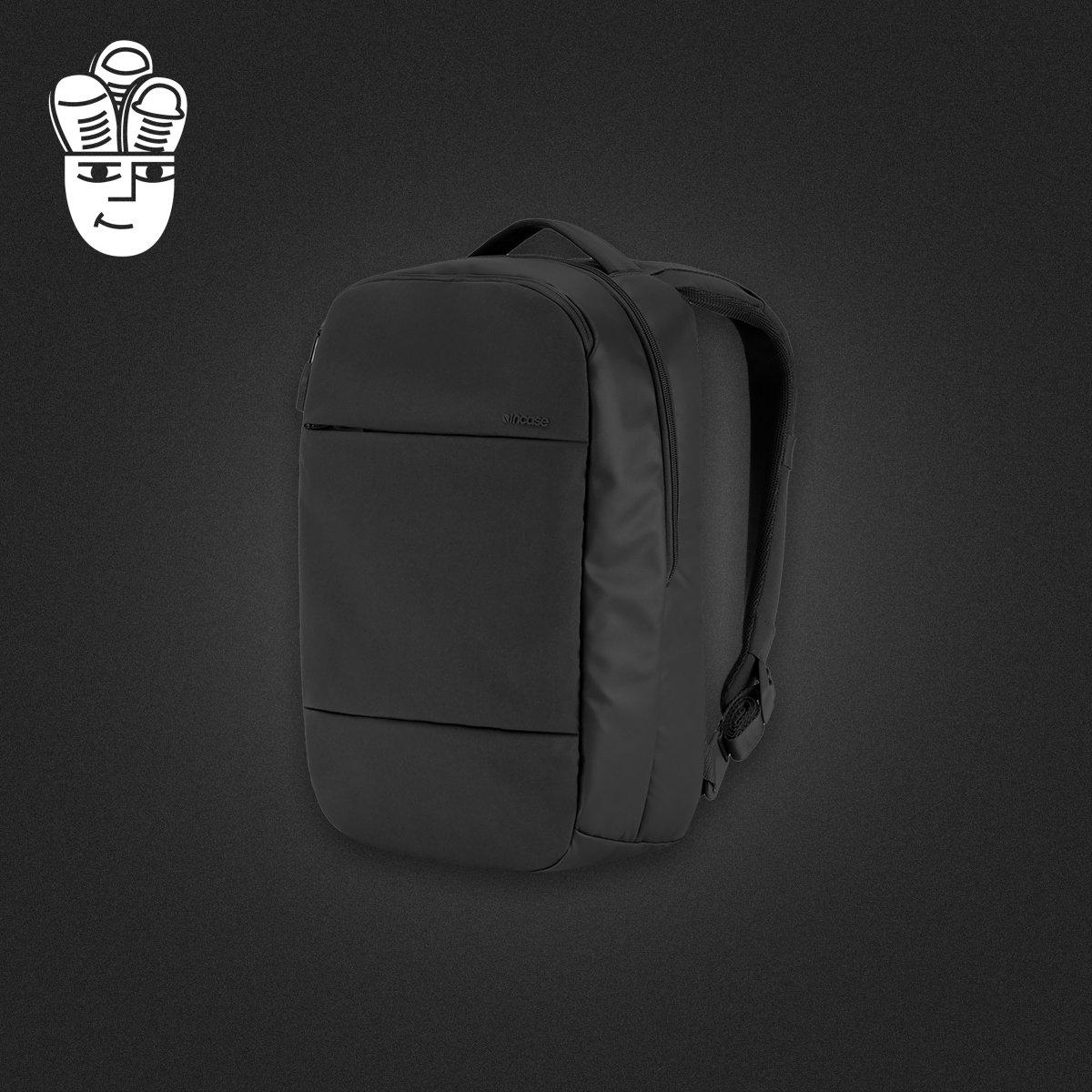 美国Incase City系列 苹果笔记本电脑包 休闲双肩包 多功能背包