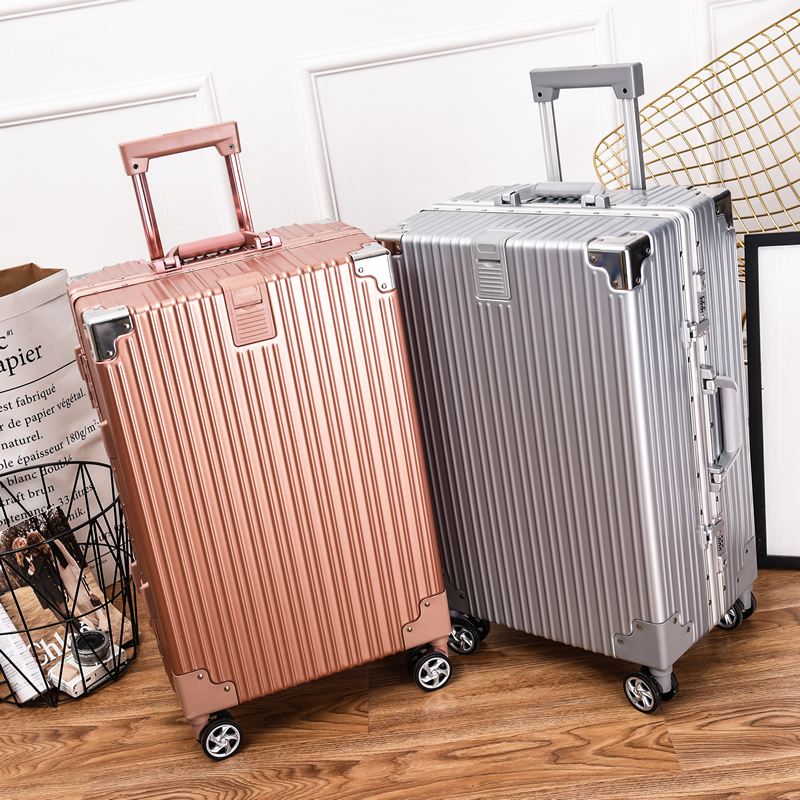 Vinsonpaul / Vinson Paul travel luggage aluminum frame trolley case male and female students 20 inch boarding code box