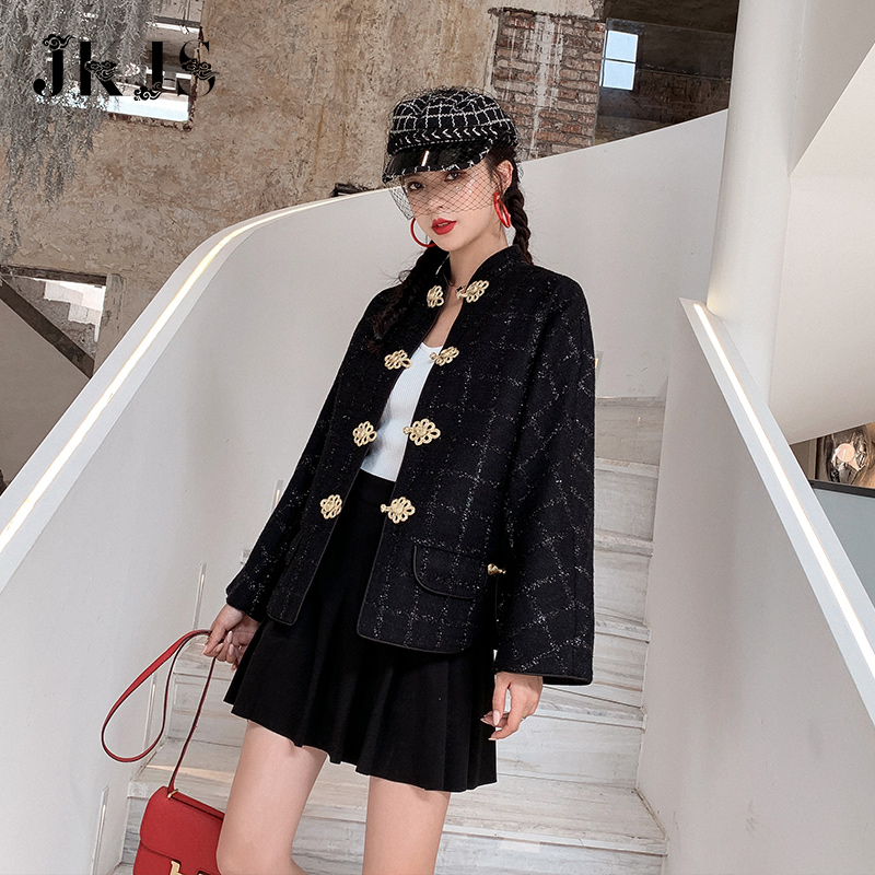 改良汉服女复古盘扣少女民国学生装中国风唐装年轻版女装旗袍上衣