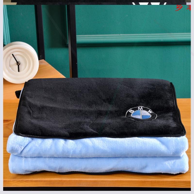 汽车抱枕被子两用多功能一对车内个性车用后排后车后窗车载折叠被