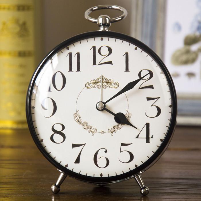 券后32.00元创意静音学生床头台式欧式复古闹钟