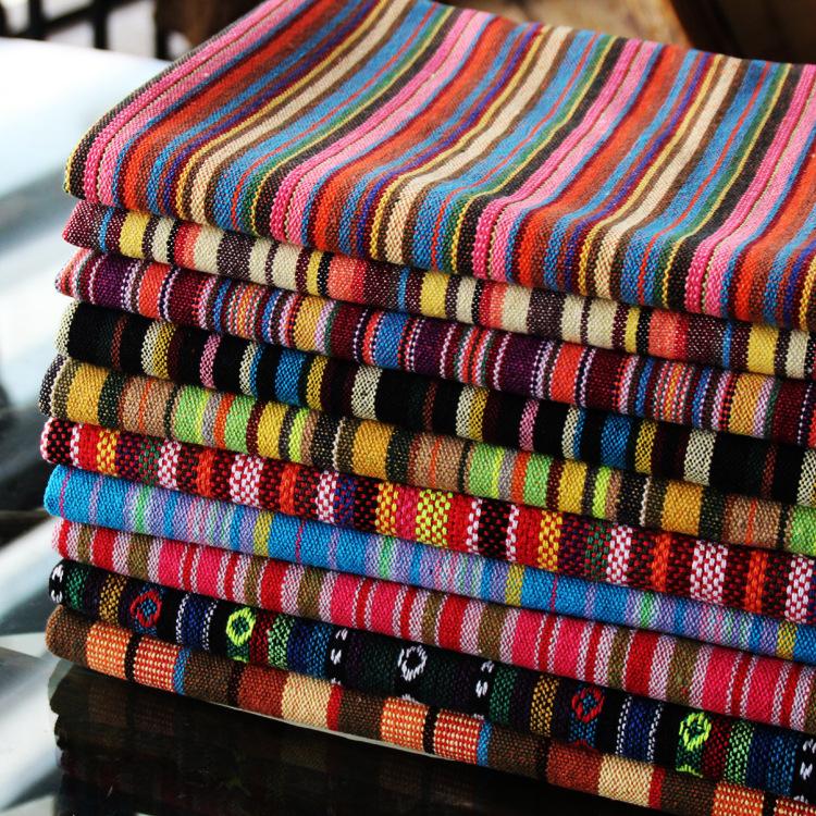 包郵麗江布のテーブルクロスのカーテン砂がバーのレストランの喫茶店の装飾の生地を発表します。