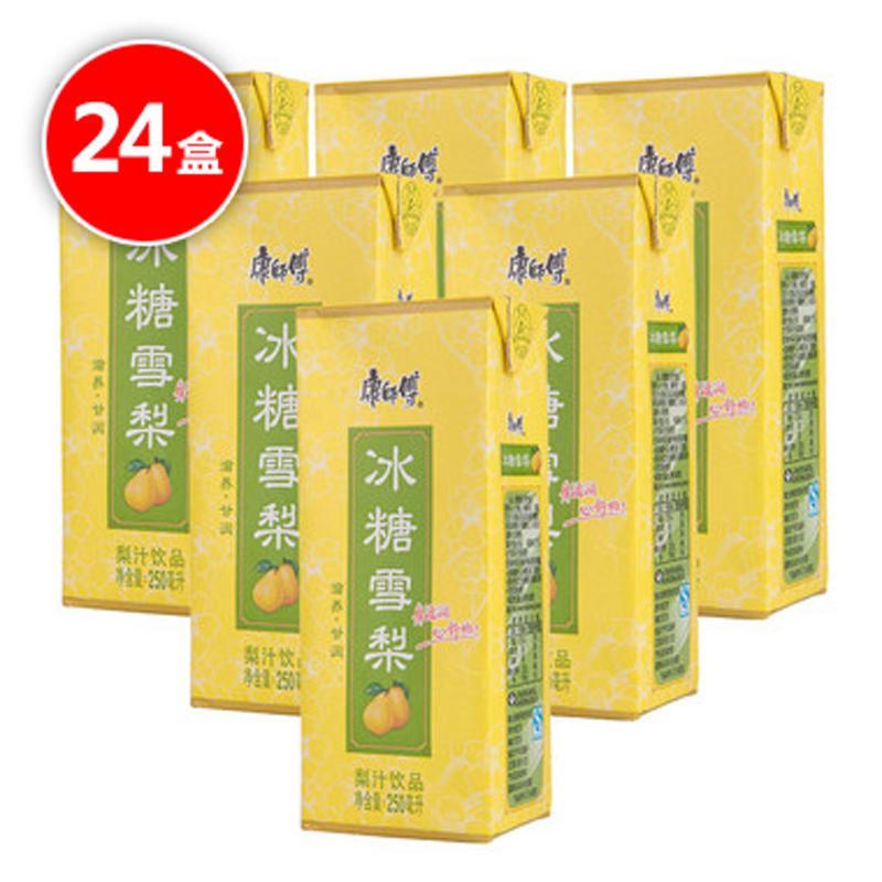 ~天貓超市~康師傅 冰糖雪梨整箱裝 250ML 包^~24飲品