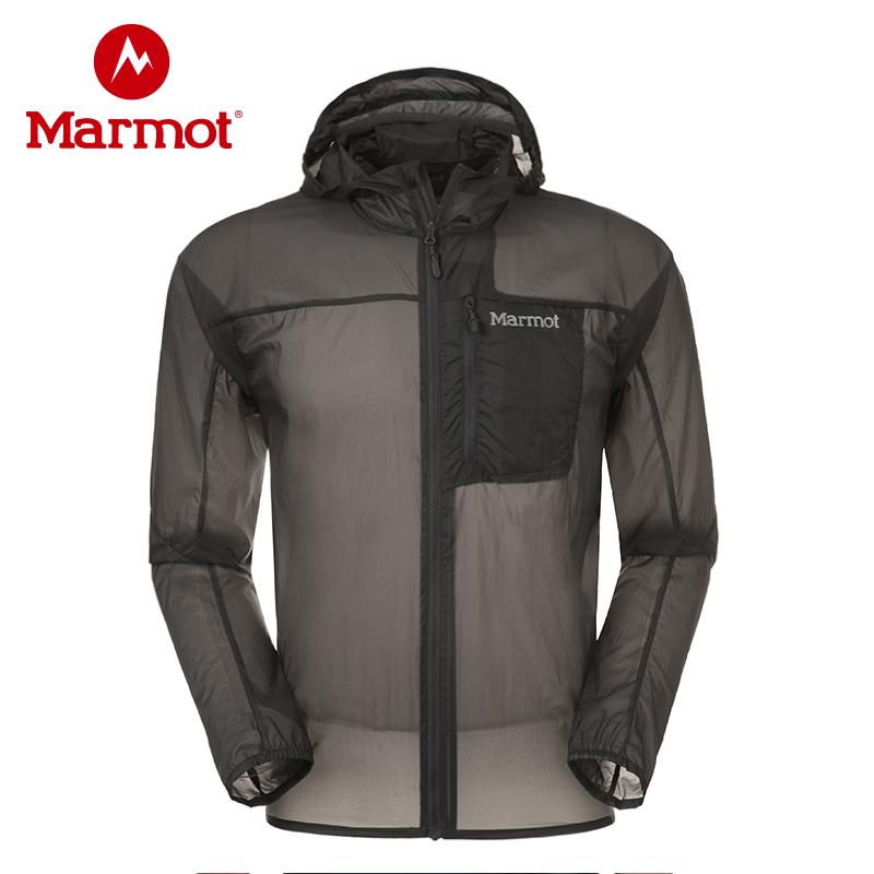 marmot土拨鼠防晒衣男户外防紫外线运动风衣透气男士皮肤衣S51190