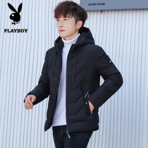 Playboy Cotton Man Winter new Korean young man thickened down cotton clothes short jacket jacket tide