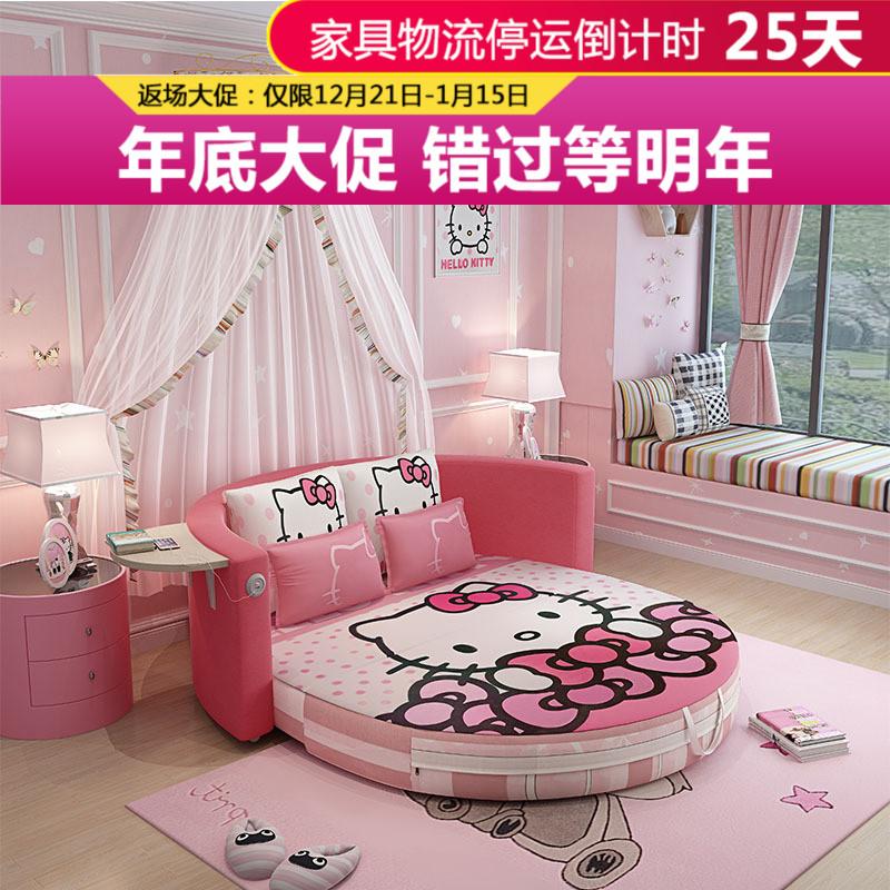 多功能沙发床可折叠客厅小户型简约现代简易懒人两用公主床1.8米