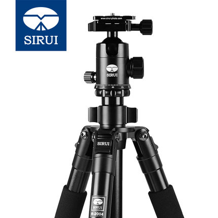 Siri R2004 tripod SLR camera bracket digital camera pan tilt tripod photography portable travel