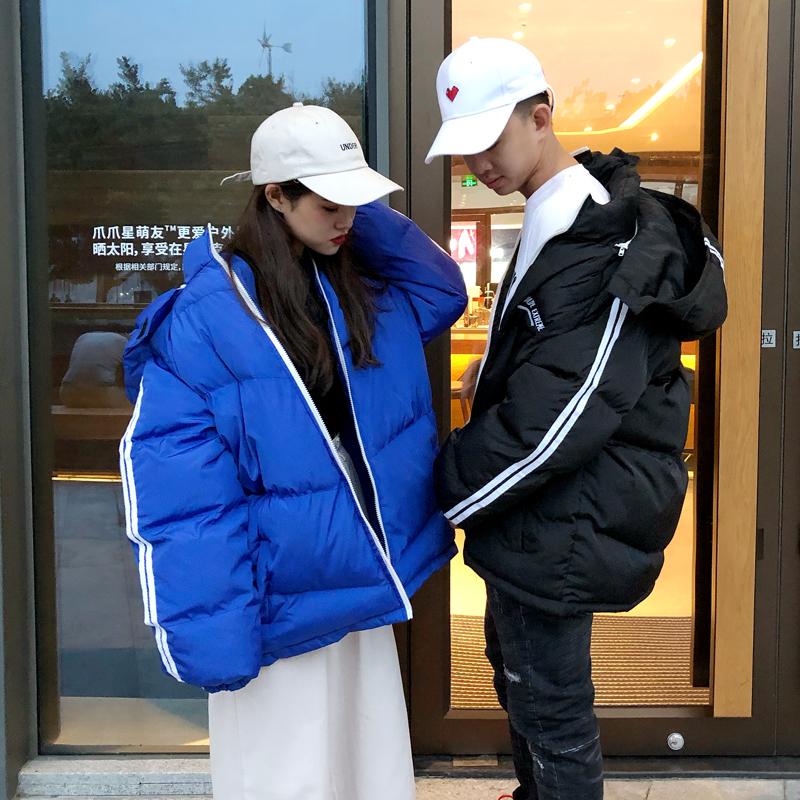 实拍实价 韩版女宽松学生百搭气质面包服韩范棉衣潮外套