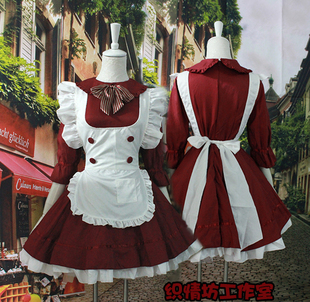 The latest Japanese Comic Con Cosplay princess clothes lolita Meng Lolita Maid costumes maid fitted paternity