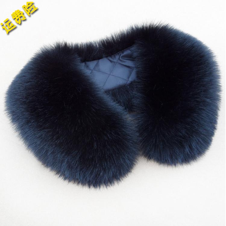 毛领子仿狐狸毛领子貉子毛领假领子围脖帽条围巾披肩毛毛领子包邮