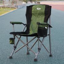 户外折叠椅子便携式沙滩椅钓鱼椅露营烧烤休闲家用写生椅桌南落