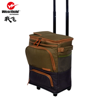 Westfield I fly portable picnics picnic bag multifunctional tableware bag pull rod type outdoor picnic equipment
