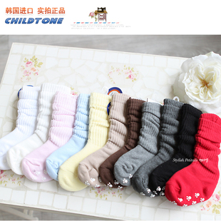South Korea imported children s socks senior cotton baby boys and girls in tube socks cotton stockings preschool children