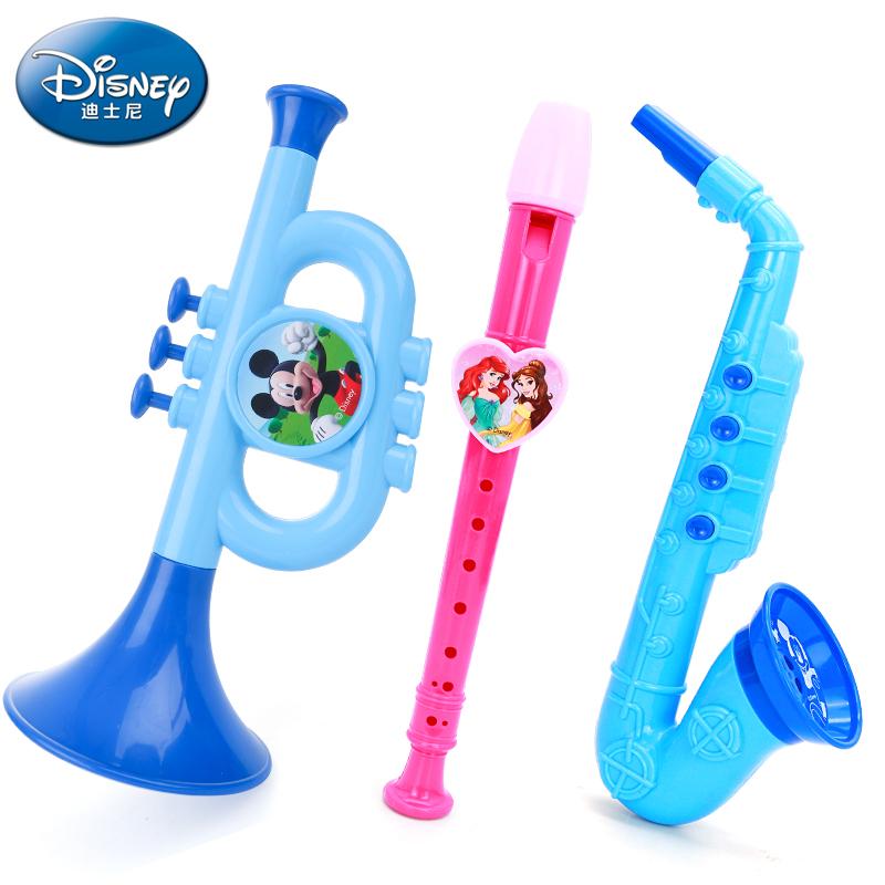 迪士尼兒童薩克斯玩具幼兒園音樂表演吹奏樂器喇叭寶寶益智玩具