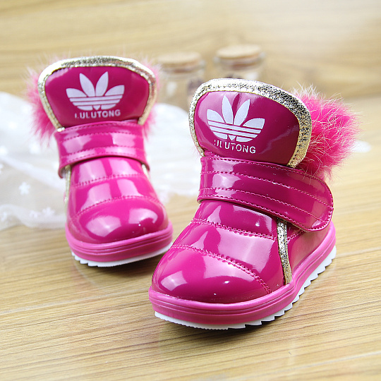 2013 новых детей снега сапоги зимние сапоги мальчиков водонепроницаемый мех сапоги обувь Детская обувь для девочек