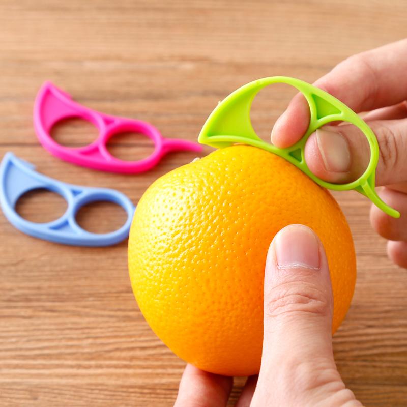 创意小老鼠开橙器迷你剥橙器便捷橙子去皮器石榴橘子剥皮器削皮器