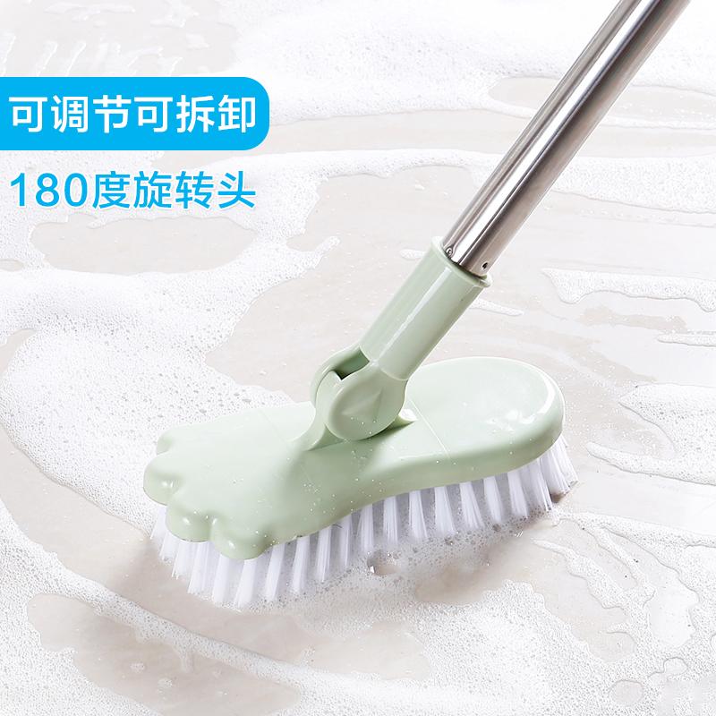 Сковорода этаж щетка зеркало телескопической ванная комната туалет этаж жесткий щетка ванная комната домой ванна керамическая плитка очистка щеткой сын