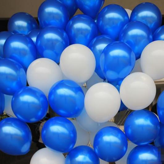 粉爱粉爱你婚庆用品气球婚房布置婚礼装饰 加厚珠光拱门气球1.5克